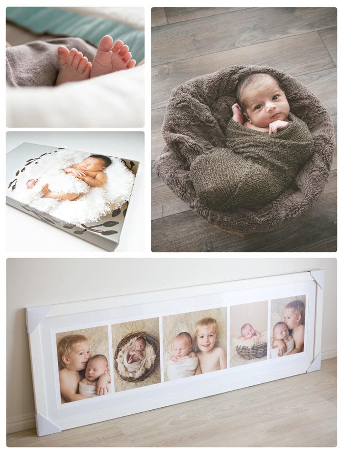 Newborn cuadros lienzo marco